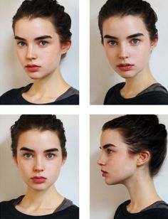so fresh: Ali Michael thick eyebrows