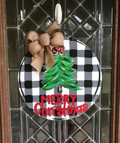 Newest Photo cute Door Hanger Thoughts For the uninitiated, door hangers are those advertisements that people leave hanging on your door fo Christmas Door, All Things Christmas, Christmas Wreaths, Christmas Bulbs, Merry Christmas, Christmas Decorations, Holiday Decor, Football Door Hangers, Craft Night