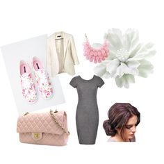 A fashion look from March 2015 featuring Ally Fashion dresses, Forever 21 sneakers and Chanel shoulder bags. Browse and shop related looks.