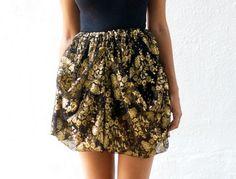 DIY Dolce & Gabbana Inspired Lace Skirt