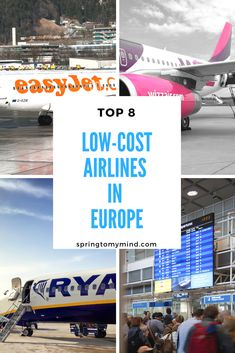 Top 8 low-cost airlines in Europe for cheap and comfortable flights – Best Europe Destinations Cheap Flights To Europe, Low Cost Flights, Europe Destinations, Holiday Destinations, Wow Air, Best Airlines, Toddler Travel, Backpacking Europe, Air Travel