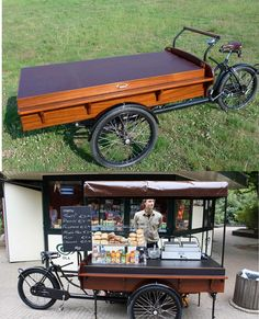 food bike imbisswagen verkaufsrad paul ernst street. Black Bedroom Furniture Sets. Home Design Ideas