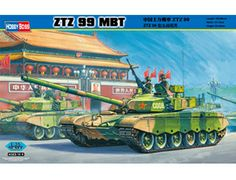The Hobby Boss ZTZ 99 MBT in 1/35 scale from the plastic tank model range accurately recreates the real life Chinese main battle tank. This plastic tank kit requires paint and glue to complete.