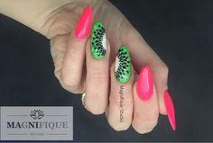 Neon nails Kiwi Frust owoce Sieh dir dieses Instagram-Foto von @magnifique_studio_nails an • Gefällt 19 Mal