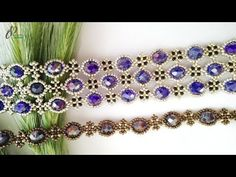 Passion Bracelet 💖| Beautiful Beaded Cuff Bracelet| How to make beaded bracelet 👍 - YouTube Beaded Braclets, Beaded Bracelets Tutorial, Beaded Cuff Bracelet, Beaded Bracelet Patterns, Seed Bead Bracelets, Beading Patterns, Beads Tutorial, Seed Beads, Embroidery Bracelets
