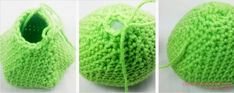 amigurumis, patrones gratis, crochet, Free Crochet, Knitted Hats, Baby Shoes, Knitting, Mini, Knitted Slippers, Owl Bird, Tricot, Craft