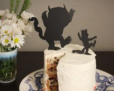 Where the Wild Things Are Cupcake Toppers set by SugarButterLover
