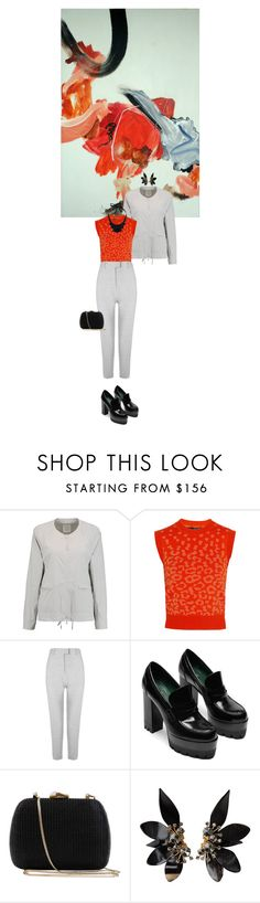 """""""Untitled #1726"""" by hologrammar ❤ liked on Polyvore featuring DKNY, Sibling, Serpui, Marni and John Lewis"""