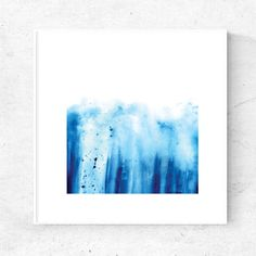 Beautiful hand painted watercolor abstract painting for download. Available in 5x5, 8x8 and 12x12 prints  **Please note that this is a digital item for Instant download. No physical item will be received. ------------------------------------------- This listing includes :  • 12x12 High Quality JPG file at 300dpi  • 8 x 8 set on US Letter size paper, PDF • 5 x 5 set on US Letter size paper, PDF  All PDF files are with crop marks for cutting out (See last image above)…