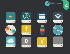 Flat Icons, Working On Myself, New Work, Behance, Flats, Logos, Gallery, Check, Free