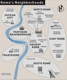 Neighborhoods I must visit when I go to #Rome #travel #tourism