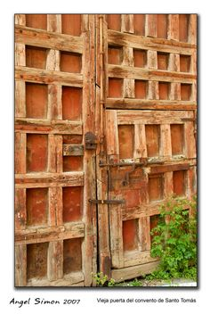 """""""The convent door"""", by Avila, Castilla y Leon"""