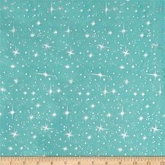 This organza fabric is sheer and very lightweight with metallic stars throughout. This glitzy fabric is perfect for creating princess costumes, overlays, party decor and special occasion apparel.