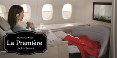 Air France começa a voar com a nova classe La Première no Brasil. - Mega Roteiros. Dicas dos melhores destinos do mundo A partir da últimaterça-feira, 17 de novembro de 2015, o voo AF457 da rota São Paulo – Paris passou a receber gradativamente a nova suíte La Première, a luxuosa primeira classe da Air France! Conheça os detalhes da nova La Première em http://best.airfrance.com. Prepare-se para se surpreender! A ...  Leia mais em: http://megaroteiros.com.br/ai