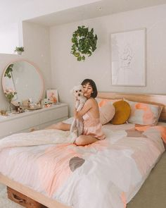Finding Twin XL bedding for your used to be a challenge, . Twin XL Bedding in a bag Peach Bedroom, Bedroom Orange, Coral Bedroom, Bedroom Setup, Bedroom Decor, Bedroom Inspo, Dream Rooms, Dream Bedroom, My New Room