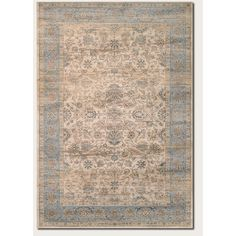 Found it at Wayfair - Cotswolds Light Blue/Oatmeal Area rug