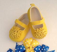 Yellow Baby Girl Shoes