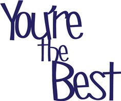 Silhouette Online Store - View Design #26197: you're the best