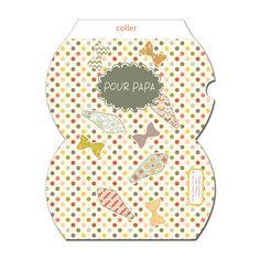 free printable father day gift box gratuit boite fête des