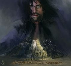 """oblivionsedge: """"Heir of Isildur by Ssarawolf """"All that is gold does not glitter, Not all those who wander are lost; The old that is strong does not wither, Deep roots are not reached by the. Hobbit Art, The Hobbit, Concerning Hobbits, Aragorn, Arwen, Jrr Tolkien, Dark Lord, The Heirs, One Ring"""