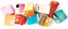 Lush cosmetics soaps