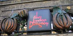 London Dungeon, to have the daylights scared out of me on my dream vacation. Mille, London, Dream Vacations, My Dream, Places Ive Been, Wish, England, Neon Signs, Travel