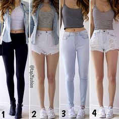 1, 2, 3 OR 4!? #Style #Pretty #Color Tag Your Friends!