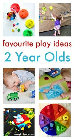 fun and easy play ideas for two year olds :: toddler play :: toddler activities