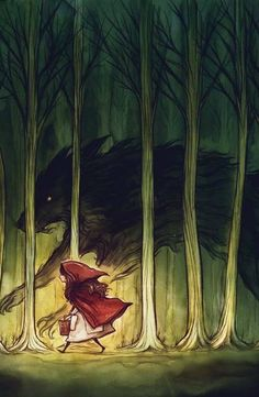 There are always things to overcome, in this case, it's the big bad wolf.