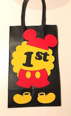 Bolsas de regalo de Mickey Mouse. Mickey Mouse a favor de