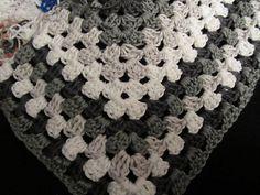 Ravelry: Vividneedles' Half Granny Square Shawl II