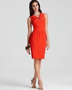 Little orange dress (Anne Klein says persimmon)