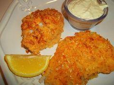 Serve with lemon and tarter sauce. Enjoy!