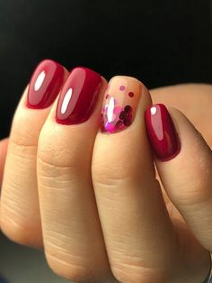 autumn nails Short burgundy nails - - Know All About The Evaporative Co Cute Spring Nails, Cute Nails, Pretty Nails, Pretty Makeup, Acrylic Nails Natural, Dipped Nails, Burgundy Nails, Burgundy Nail Designs, Manicure E Pedicure