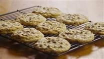 big, fat, chewy, bakery style chocolate chip cookie