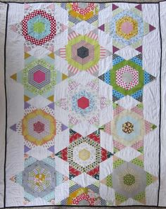 Stars in Your Eyes quilt top layout by s.o.t.a.k handmade, via Flickr
