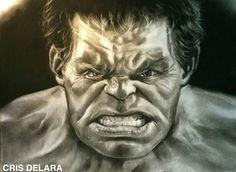 #Hulk #Fan #Art. (HULK - THE AVENGER) By: CRISDELARA. (THE 5 STÅR ÅWARD OF: AW YEAH, IT'S MAJOR ÅWESOMENESS!!!™) ÅÅÅ+