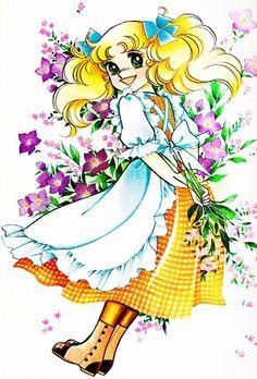 Candice White Andre by Yumiko Igarashi color sleeve ✤ ||キャンディキャンディ• concept…