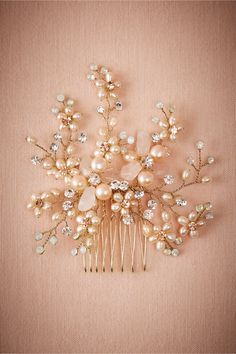 BHLDN Gypsophila Comb in  Shoes & Accessories Headpieces at BHLDN