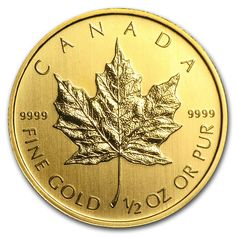 Canada oz Gold Maple Leaf Random Year Coin Values Buy Gold And Silver, Mint Gold, Sell Gold, Coin Design, Leaf Design, Maple Leaf Gold, Canadian Maple Leaf, National Symbols, Coin Values