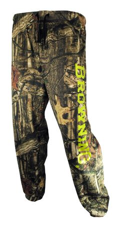 Browning Men's Lounge Pant in Mossy Oak Break-Up Infinity Camo