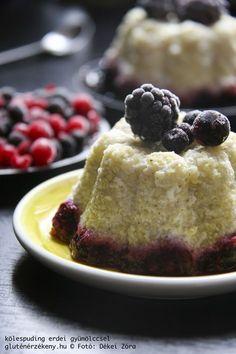 Kölespuding erdei gyümölccsel - IR barát, gluténmentes édesség Egészséges ínyencség a hétvégére, tejmentesen, IR-barát gluténmentes recept. Kölespuding mindössze 20 perc alatt.