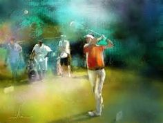 golf paintings | Infinity + some + 2