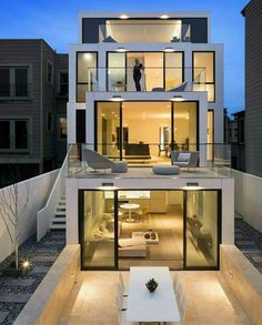 Modern house designs in terms of both exterior design and architecture are very much stylish and mak Architecture Design, House Architecture Styles, Amazing Architecture, Contemporary Architecture, Minimal Architecture, Tropical Architecture, Architecture Interiors, Futuristic Architecture, Casas Containers