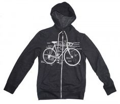 Bike hoodie from Happy Family on #Etsy