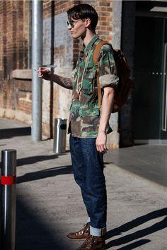 STREETSTYLE | Mercedes-Benz Fashion Week Australia Day #5 » Fucking Young!