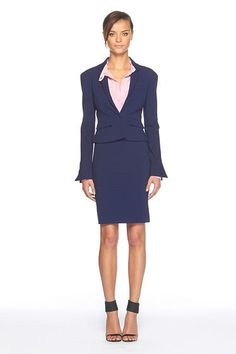 DvF Jacket - love the cut and style of this. Gorgeous!