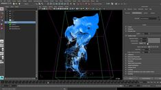 Maya Tutorial Ink FX: Advecting Particles w/ Fluids
