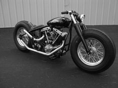 1975 HD Shovelhead custom <3
