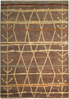 New Contemporary Pakistan Moroccan 65344 - Area Rug area rugs